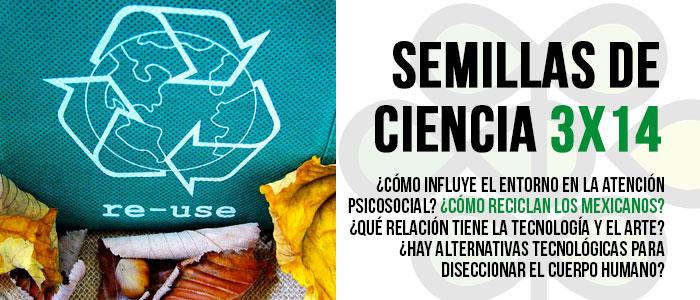 Disponible el programa 3×14 de Semillas de Ciencia